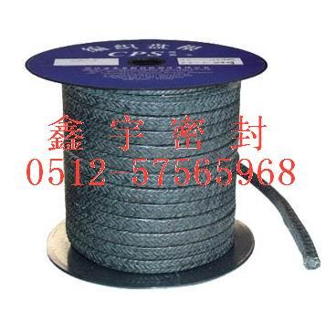 黑色聚四氟乙烯纤维盘根